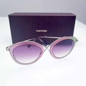 NWT Ft0604 - 77t Fuschia 55mm SUNGLASSES
